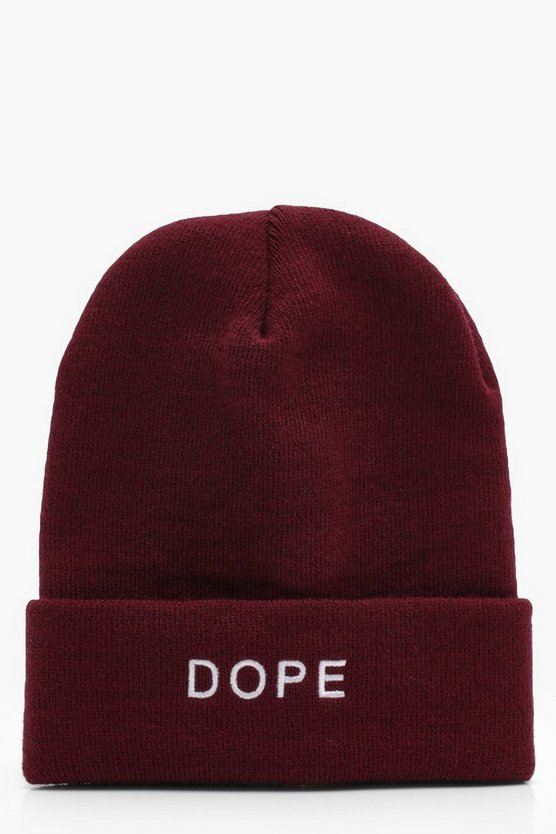 Dope Turn Up Beanie
