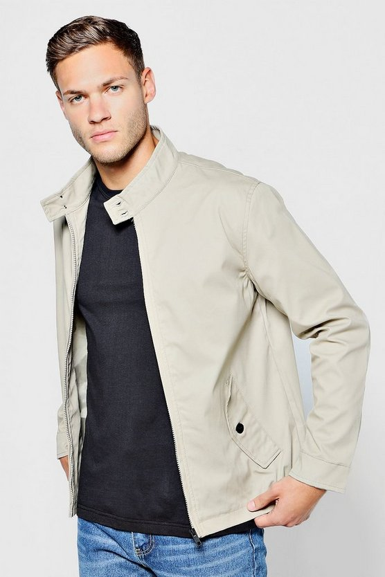 Bonded Cotton Harrington Jacket