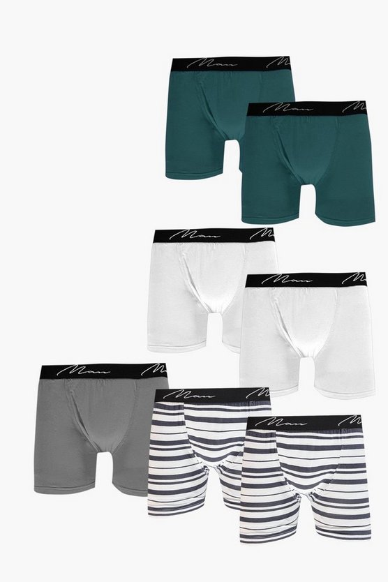 7 Pack Stripe MAN Trunks