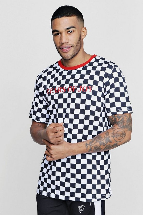 Tears of Joy Checkerboard T-Shirt