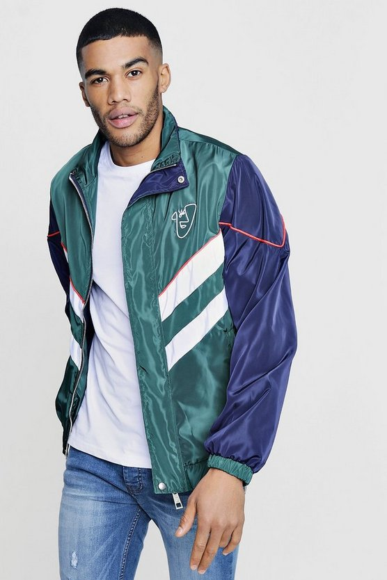 TYGA Colour Block Track Jacket