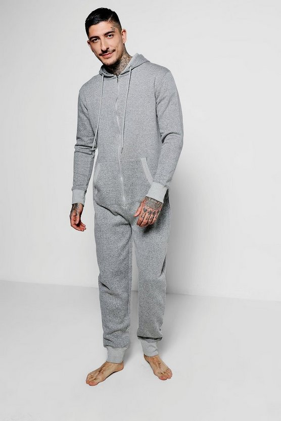 Grey Nepped Onesie