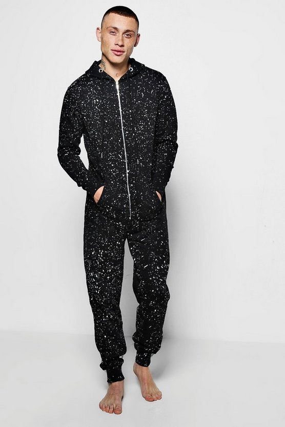 MAN Onesie With Paint Splatter