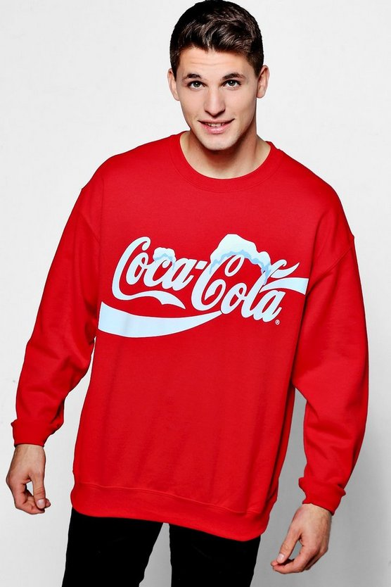 Coca Cola License Sweater