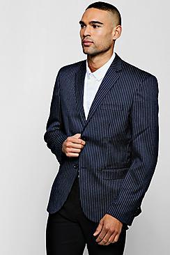 Darted Pin Stripe Jacket