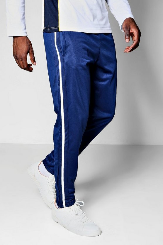 Slim Fit Side Panel Tricot Jogger