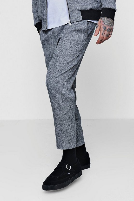 Cropped Formal Jogger