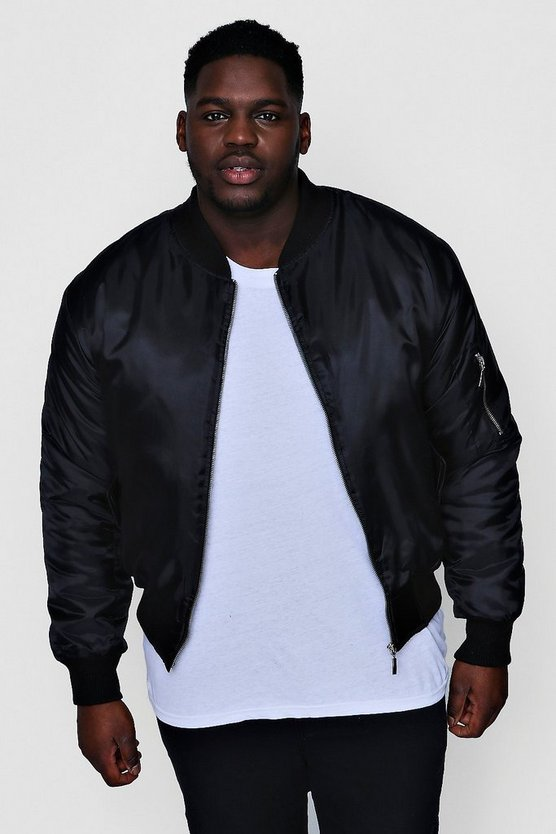 Big And Tall MA1 Bomber Jacket