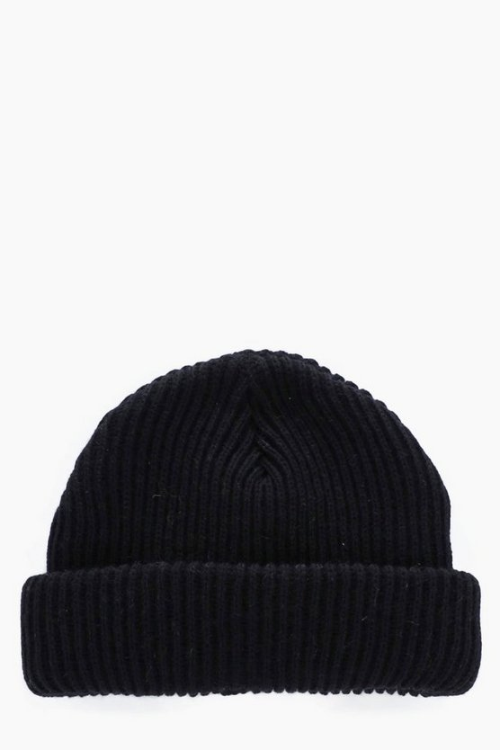 Ribbed Docker Hat