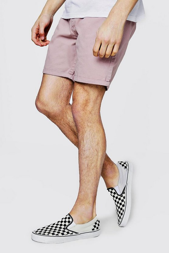 Mid Length Chino Shorts