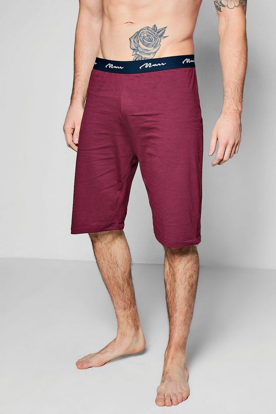 MAN Jersey Lounge Shorts