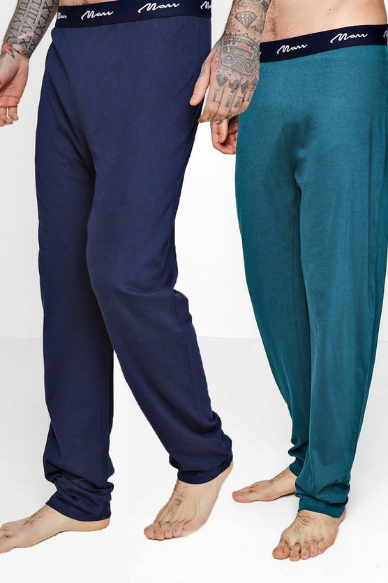 2 Pack Jersey Pyjama MAN Lounge Pants