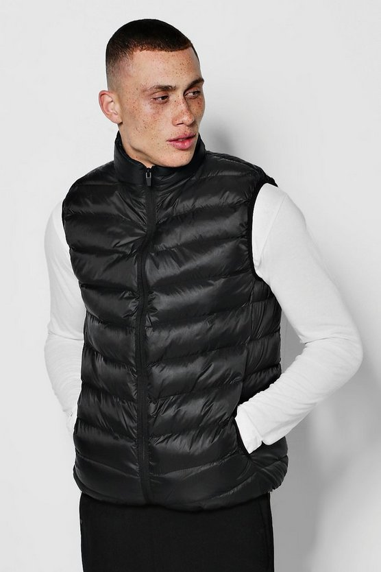 Padded Zip Through Gilet