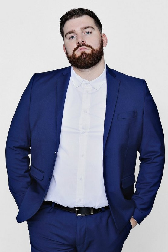 Big And Tall Skinny Fit Suit Jacket