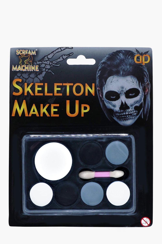 Skeleton Makeup Set - multi - Halloween Skeleton M