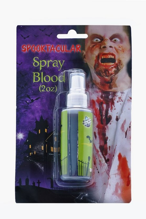 Halloween Zombie Blood Spray