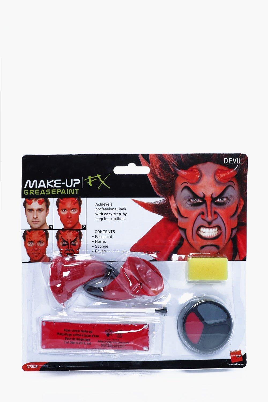 Devil Makeup Kit - multi - Halloween Devil Makeup