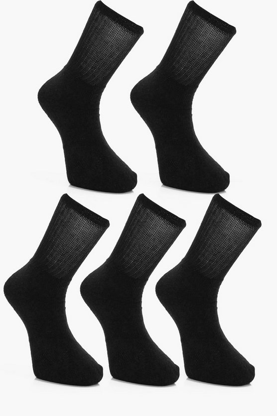 5 Pack Sport Tube Sock