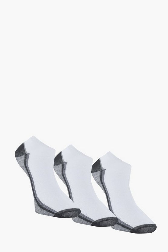 3 Pack Sport Trainer Socks