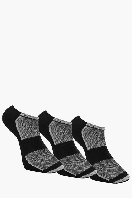 3 Pack Sport Trainer Sock