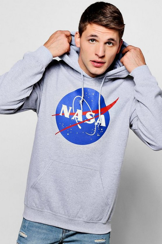 NASA Over The Head Hoodie