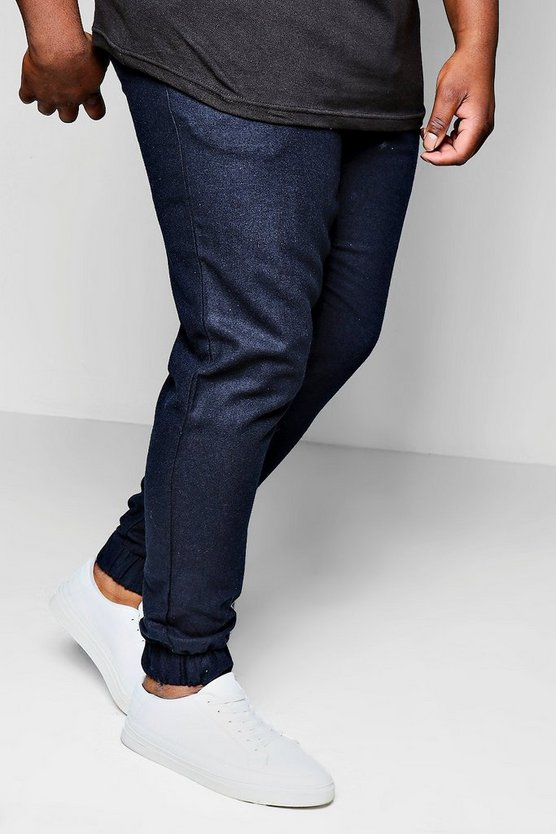 Big And Tall Cuffed Smart Wool Mix Jogger