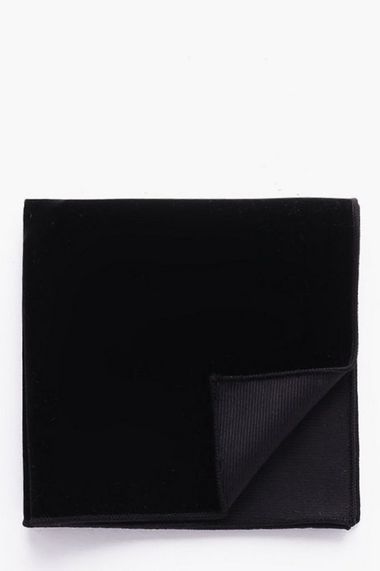 Velvet Pocket Square