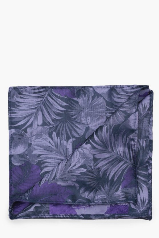 Lilac Jaquard Pocket Square