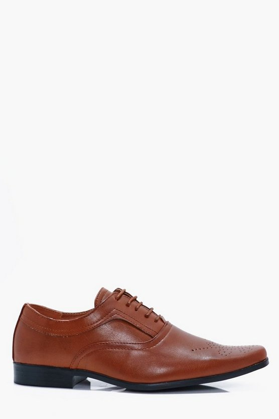 Smart Lace Up Derby Brogue