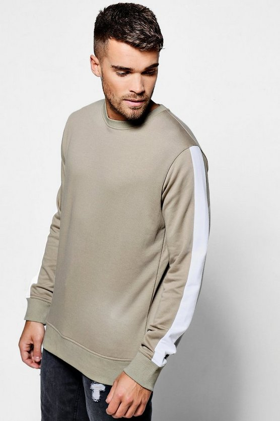 Side Panel Sweater