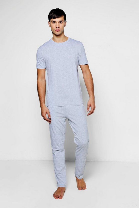T-Shirt & Lounge Pants Jersey Pyjama Set