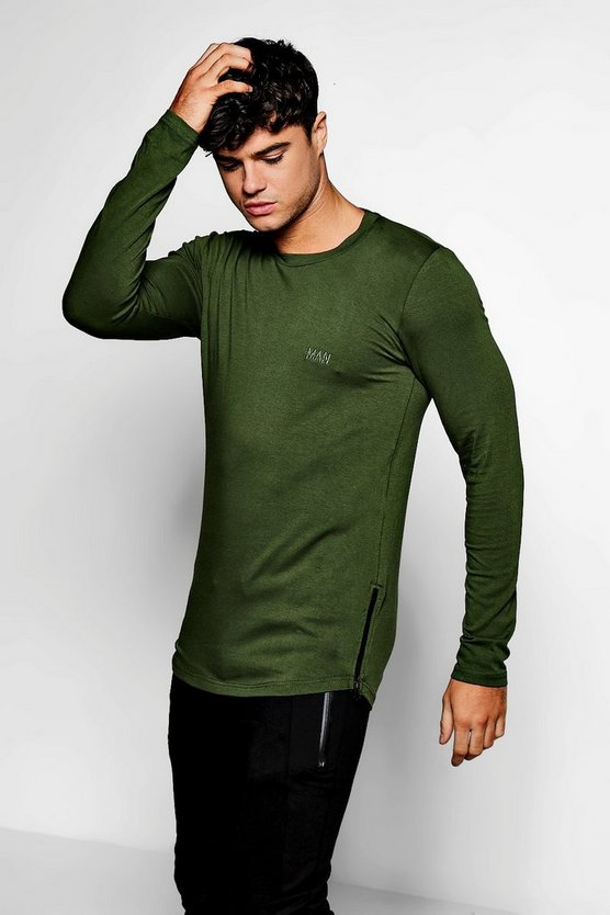 Long Sleeve Skinny Fit MAN T-Shirt