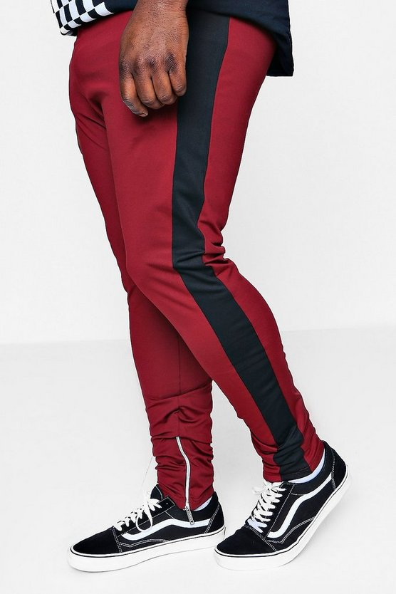 Big And Tall Tricot Colour Block Jogger