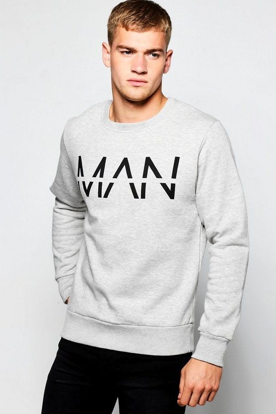 MAN Large Dash Sweater
