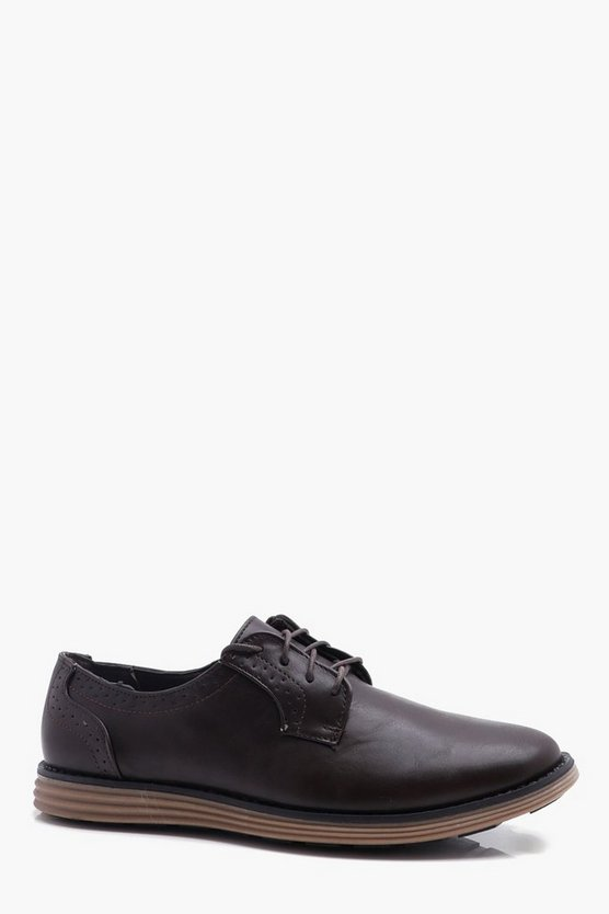 Chunky Sole Derby Shoe