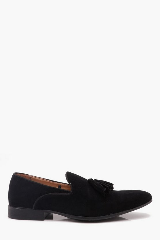 Piping Detail Loafers