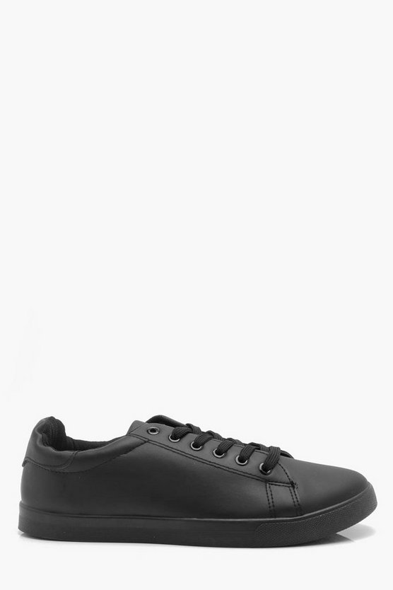Classic Lace Up Trainers