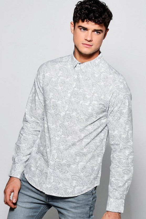 Paisley Shirt In Long Sleeve