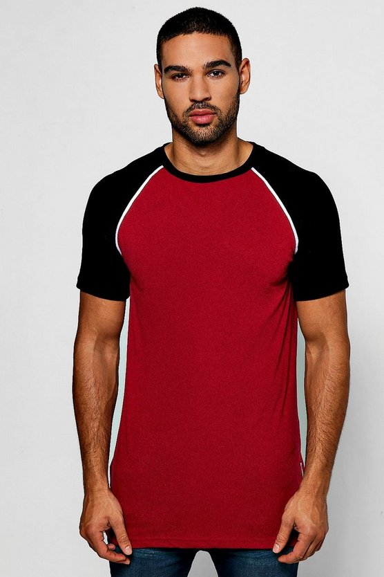 T-shirt Raglan in velour con cerniere