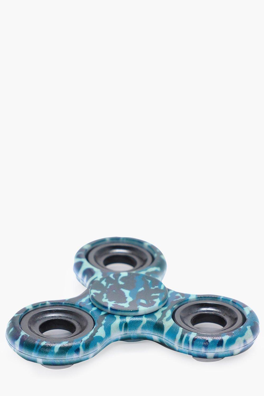 Camo Fidget Spinner - black - Black Camo Fidget Sp