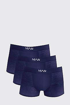 Bild på 3 Pack Navy MAN Boxers