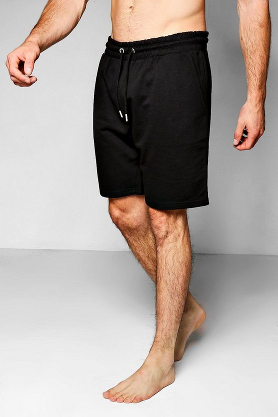 Jersey Mid Length Lounge Shorts