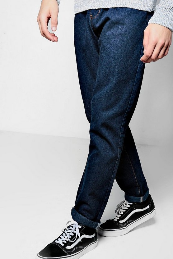 Raw Indigo Slim Fit Smart Jeans
