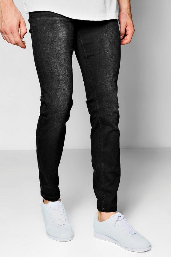 Slim Fit Charcoal Wash Denim Jeans