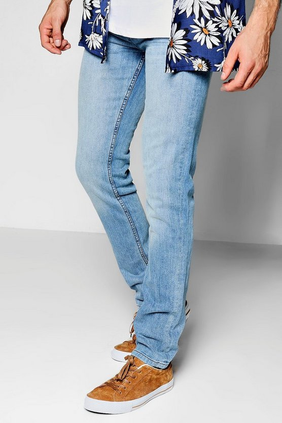 Slim Fit Pale Blue Denim Jeans