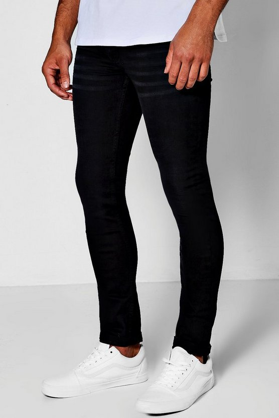 Super Skinny Fit Charcoal Wash Jeans