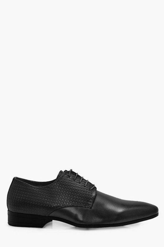 Texture Smart Lace Up Shoes