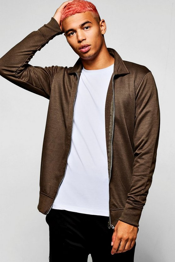 Jersey Harrington Jacket
