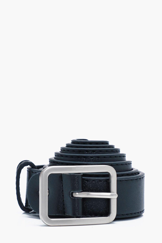 PU Skinny Belt - black - Black PU Skinny Belt - bl