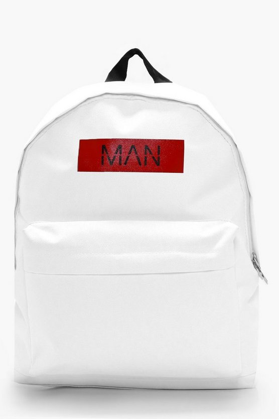 MAN Print Back Pack